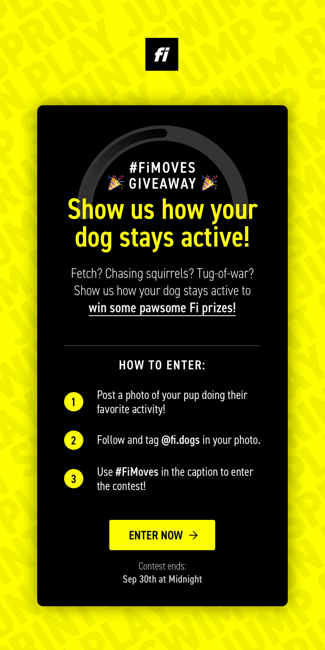 #FiMoves Giveaway