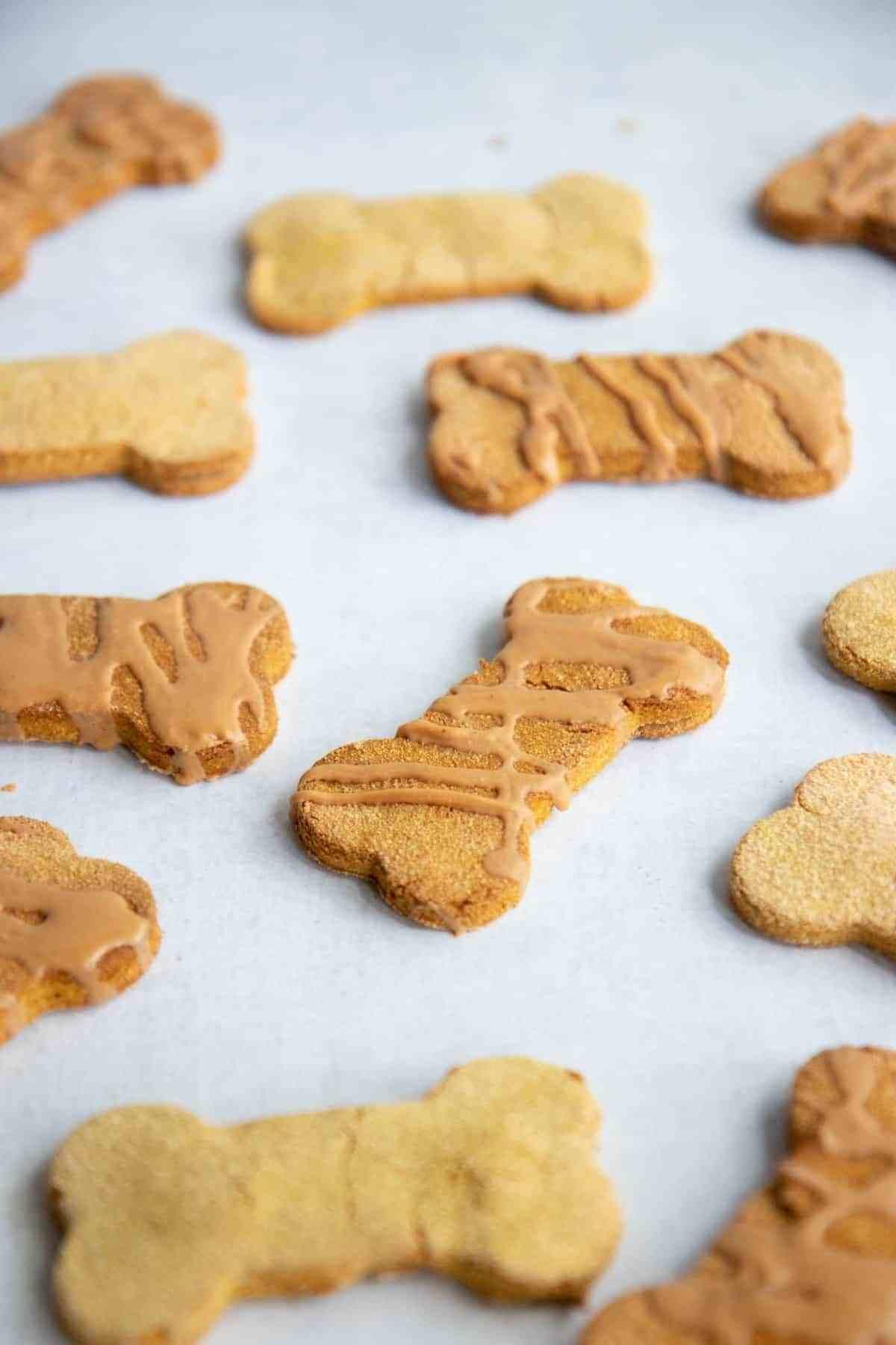 grain-free pumpkin coconut dog treats