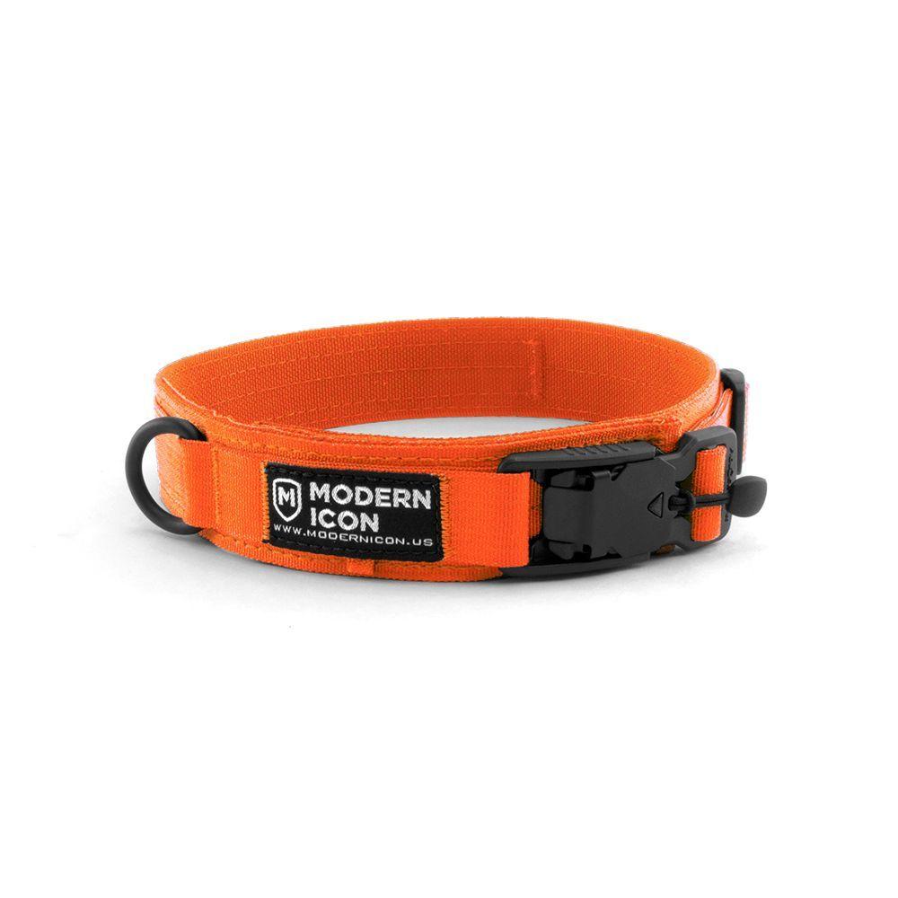 Orange Dog Collar - Dog Gear You Need