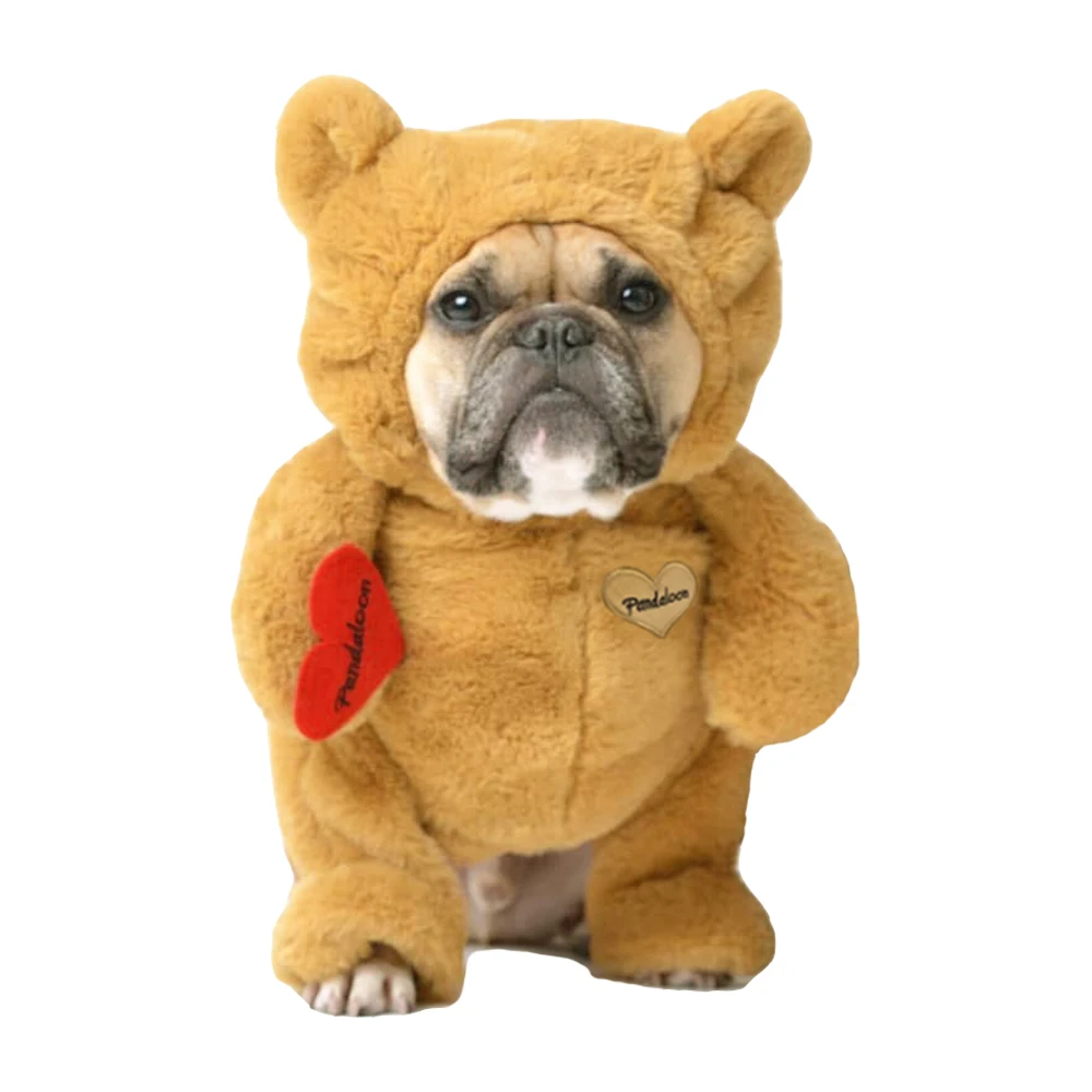 dog in teddy bear halloween costume